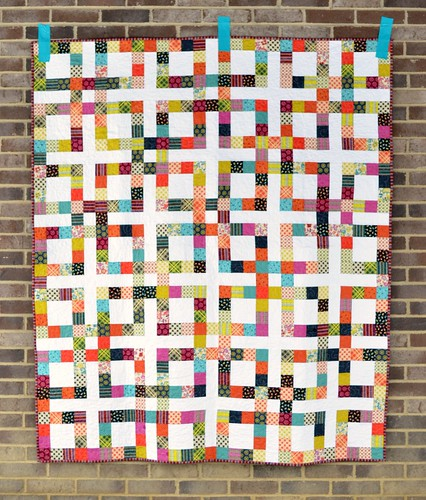 Quilt Patterns From Squares : SewCraftyJess: Lucky Square Quilt Pattern and a giveaway!