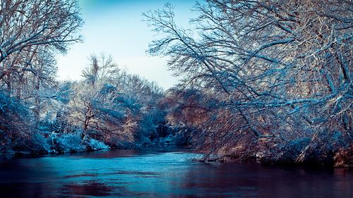ri winter snow ice landscape lumix g panasonic rhodeisland cranston vario 1445mm f3556 pawtuxetriver gx1 pawtuxetriverwalk