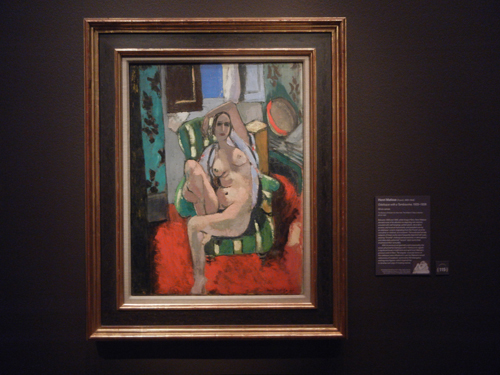 DSCN5663 _ Odalisque with a Tambourine, Matisse, NY MOMA at De Young