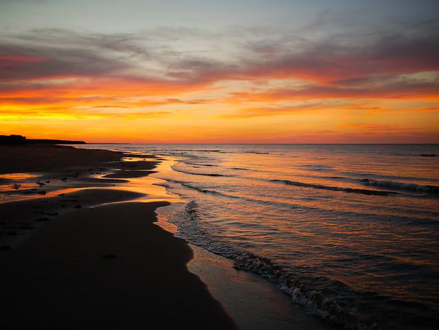 Gulf of Saint Lawrence Sunset