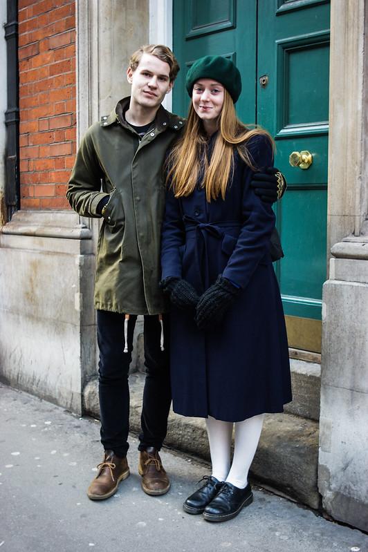 Street Style - Karl & Lisen, Covent Garden