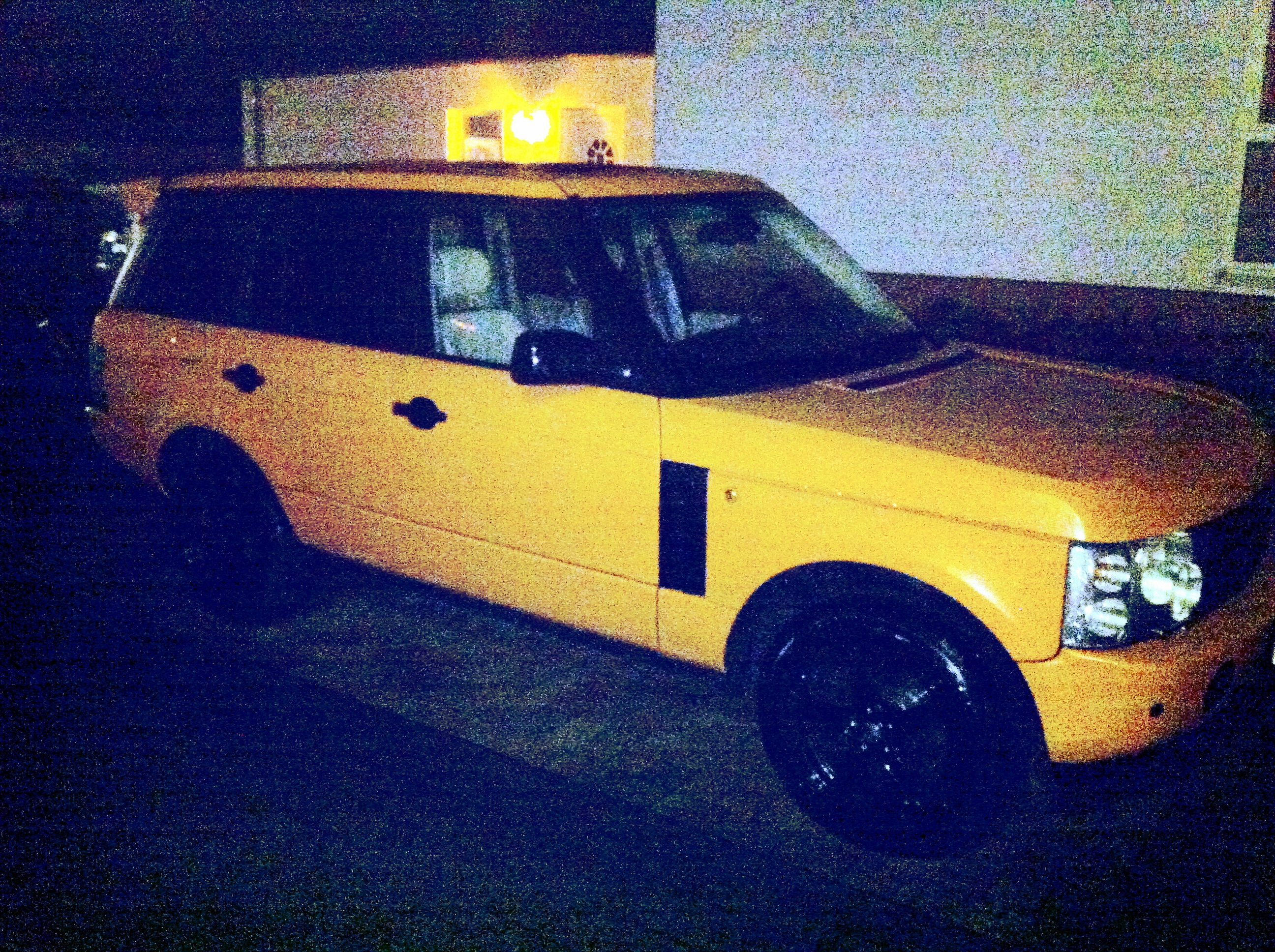 Orange Range Rover