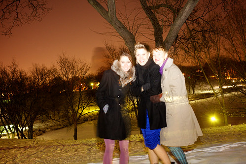 52 weeks ends with 3 friends in -6 degrees