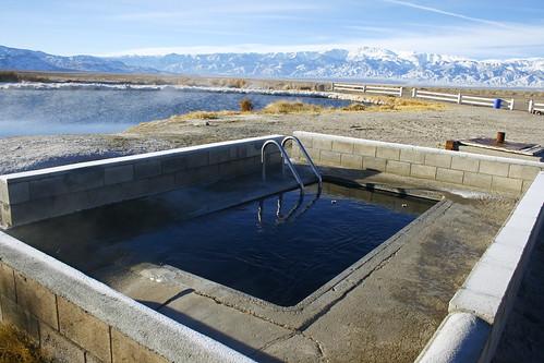 Hot springs for Fish springs nevada