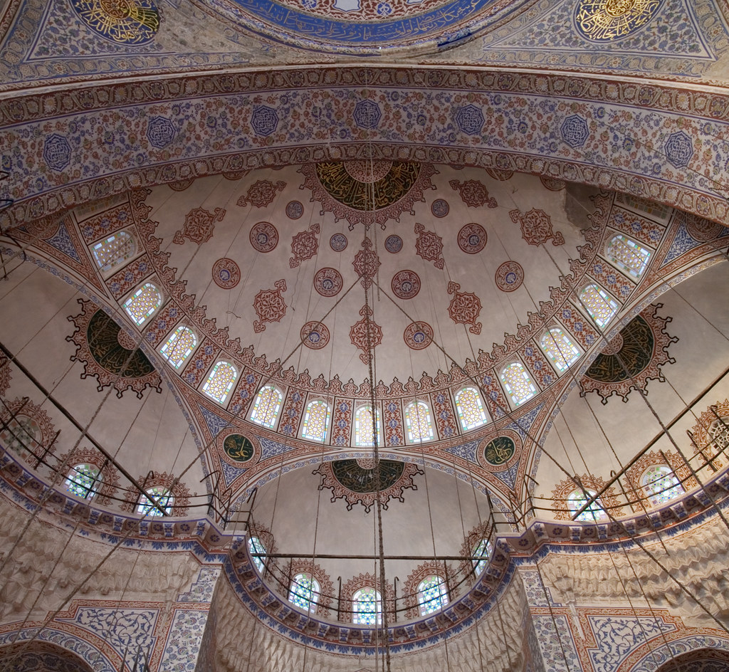 Blue Mosque work