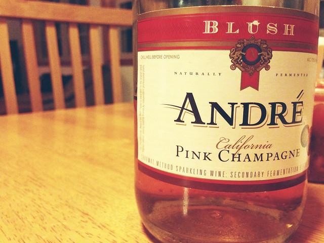 Pink Champagne on Ice.