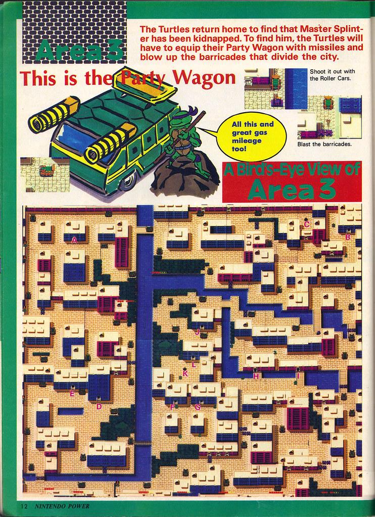 "NINTENDO POWER ::  MAY/JUNE 1989 // Vx p.12 "" TEENAGE MUTANT NINJA TURTLES "" { original review } by tOkKa"