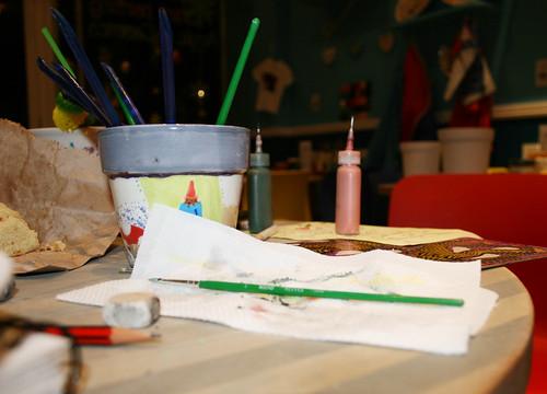Ceramics experimentation.