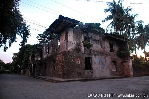 Old Spanish house in San Fernando, Sibuyan Island, Romblon