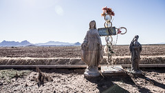 Roadside memorial for Annette, Marana, Arizona