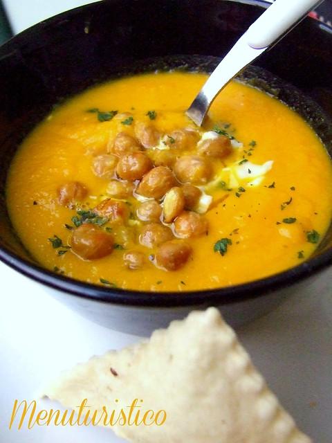 zuppa carote