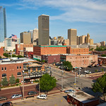 Oklahoma City Skyline from Bricktown