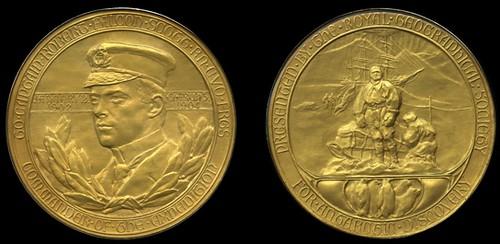 Scott RGS medal 1904