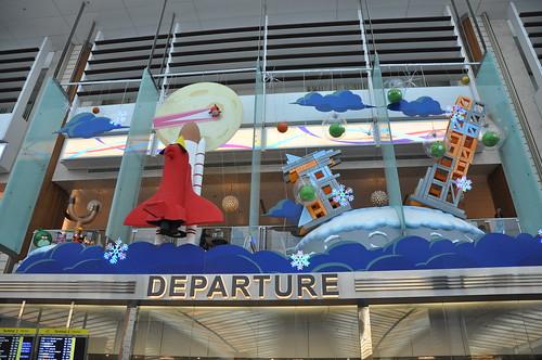Changi Airport - Departure Entrance