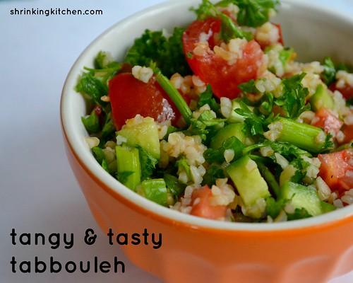 tangy & tasty tabbouleh