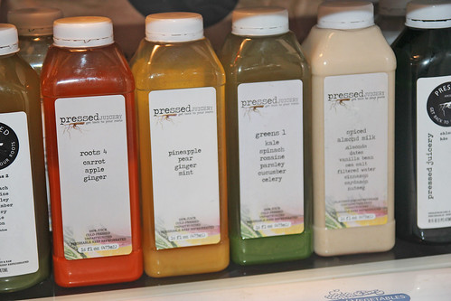Pressed Juicery Juice Cleanse Diaries Day One