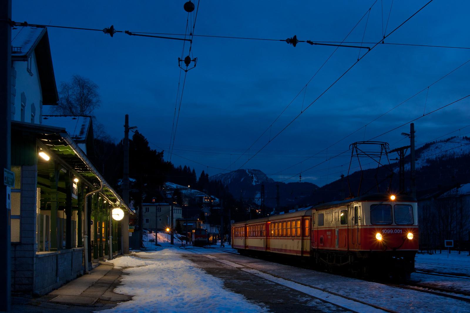 Blaue Stunde in Mariazell