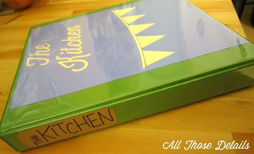 Kitchen Binder 2