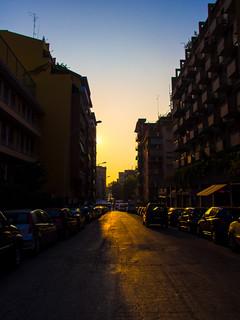 Suburban Morning