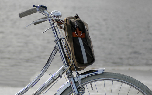 Po Campo Loop Pannier as Handlebar Bag