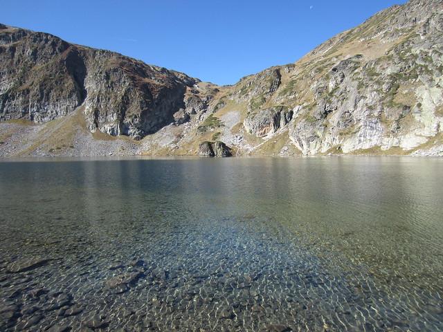Lagos glaciares de las Montañas Rila, península de los Balcanes, Bulgaria
