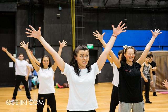 Dancers - finale demo