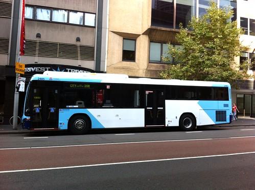 Sydney Bus at Wynyard