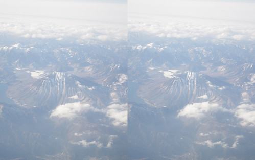 Mount Nantai, stereo parallel view