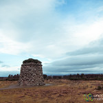 Cairn at Culloden Battlefield - Scotland