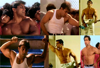 Salman Khan of 1998, in the movie Pyaar Kiya To Darna Kya