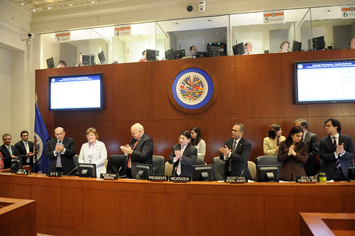 OAS Permanent Council Salutes Successes of Outgoing PAHO Director