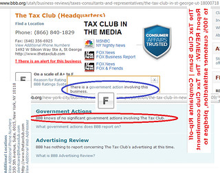 The Tax Club Review Due Diligence