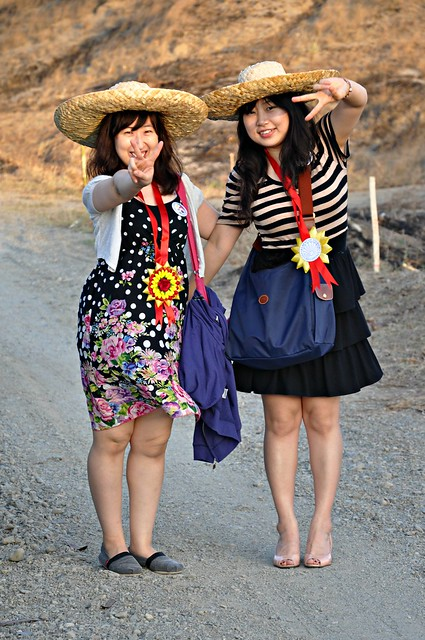 Korean ladies at the Laoag Sand Dunes