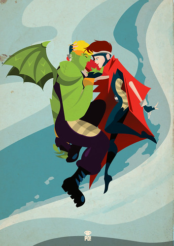 Wiccan & Hulkling by PO!!