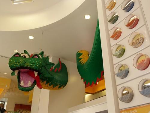 Detalle de la Tienda de Lego de Nueva York