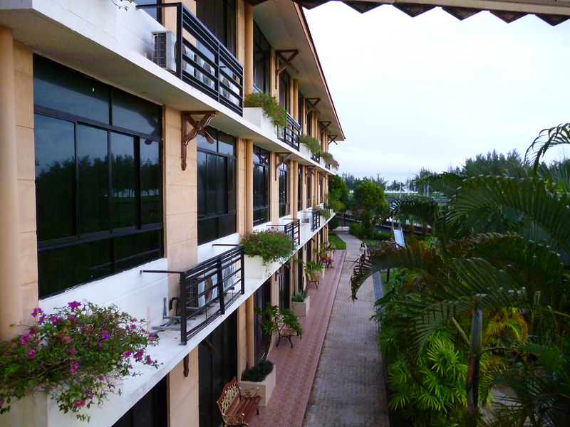 Other half wing of Kudat Golf & Marina Resort