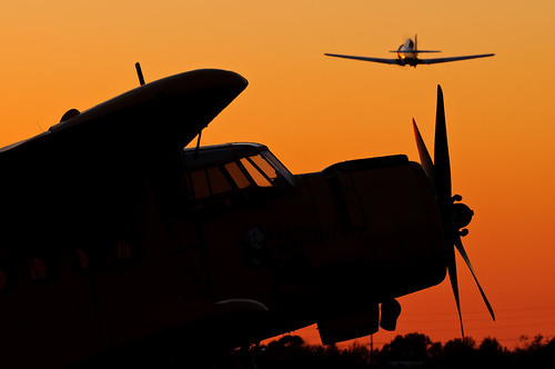 california sunset silhouette airport aircraft cable airshow socal an2 upland antonov t6texan 2013 bigpanda n2an
