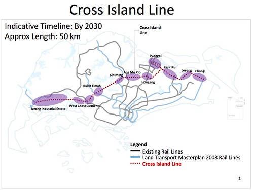 LTA Cross Island Line