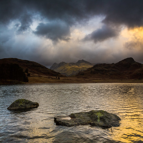 Blea Tarn Storm Front (Langdales Vertorama), Lake District by flatworldsedge