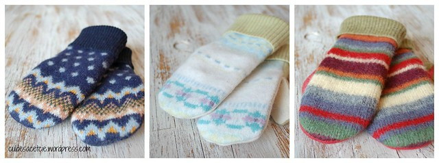 eco-friendly mittens kid size 3-5