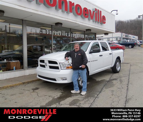 Congratulations to DENNIS KOSMACH on the 2012 DODGE RAM by Monroeville Dodge
