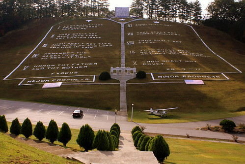 Field of the Woods Bible Park 1: World's Largest Ten Commandments
