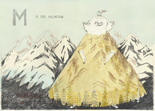 M is for Mountain