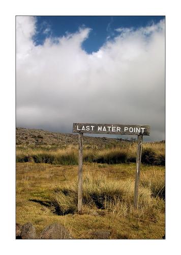 kilimanjaro - last water pointc190