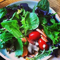 Mmm healthiness..... #salad #nocarbs