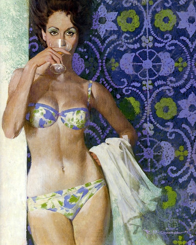 Robert McGinnis by oldcarguy41