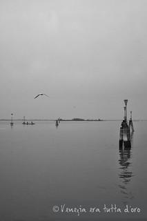 Venice black & white winter - thinking about Corto Maltese