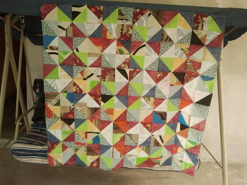 con muchos triángulos. by Mimí Bulacio