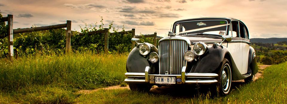 Jaguar MkV Wedding Car