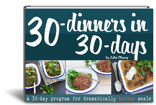 Recipe Ebook in the spotlight – 30 Dinners in 30 Days!